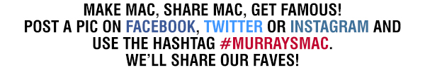 #murraysmac