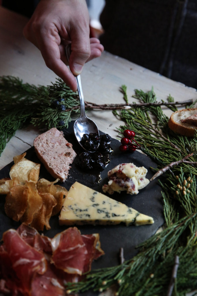Murray's New Year's Eve Holiday Cheese Board Plate Platter