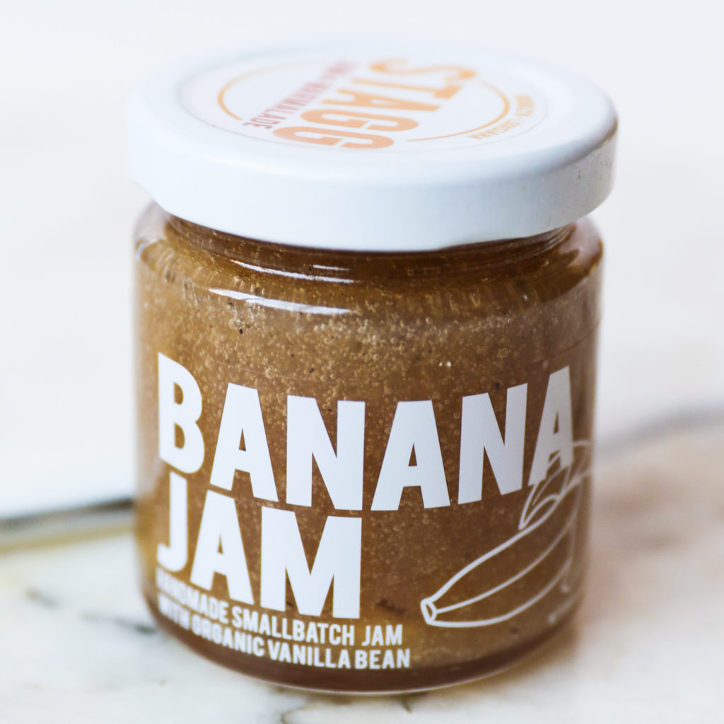 Stagg Banana Jam Topping Condiment Sweet Bananas Foster