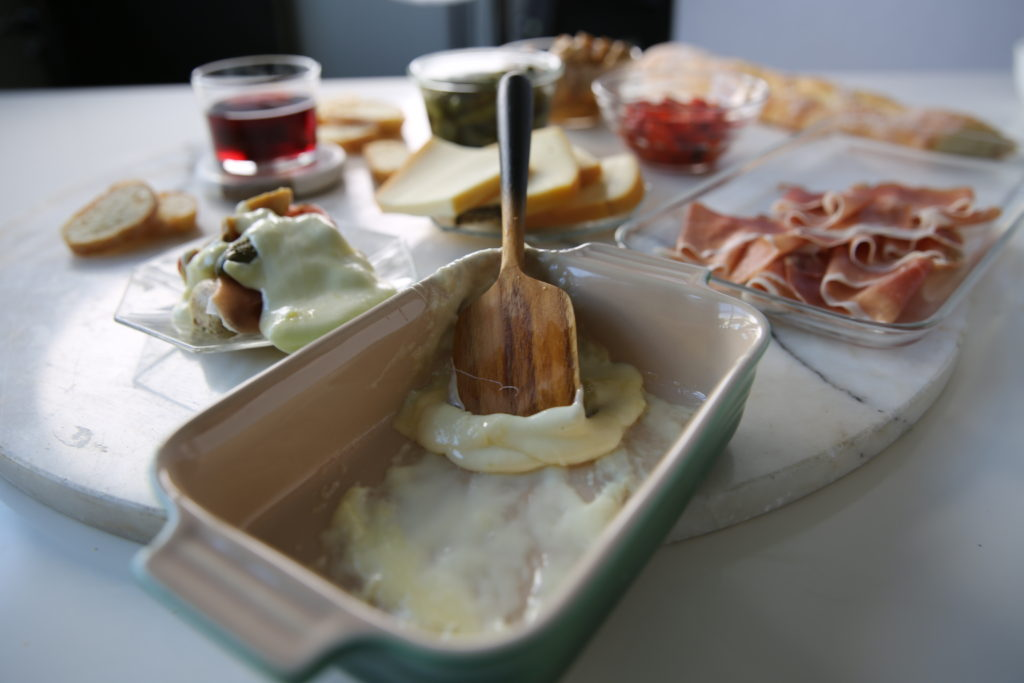 how to raclette cheese vegetable recipe party