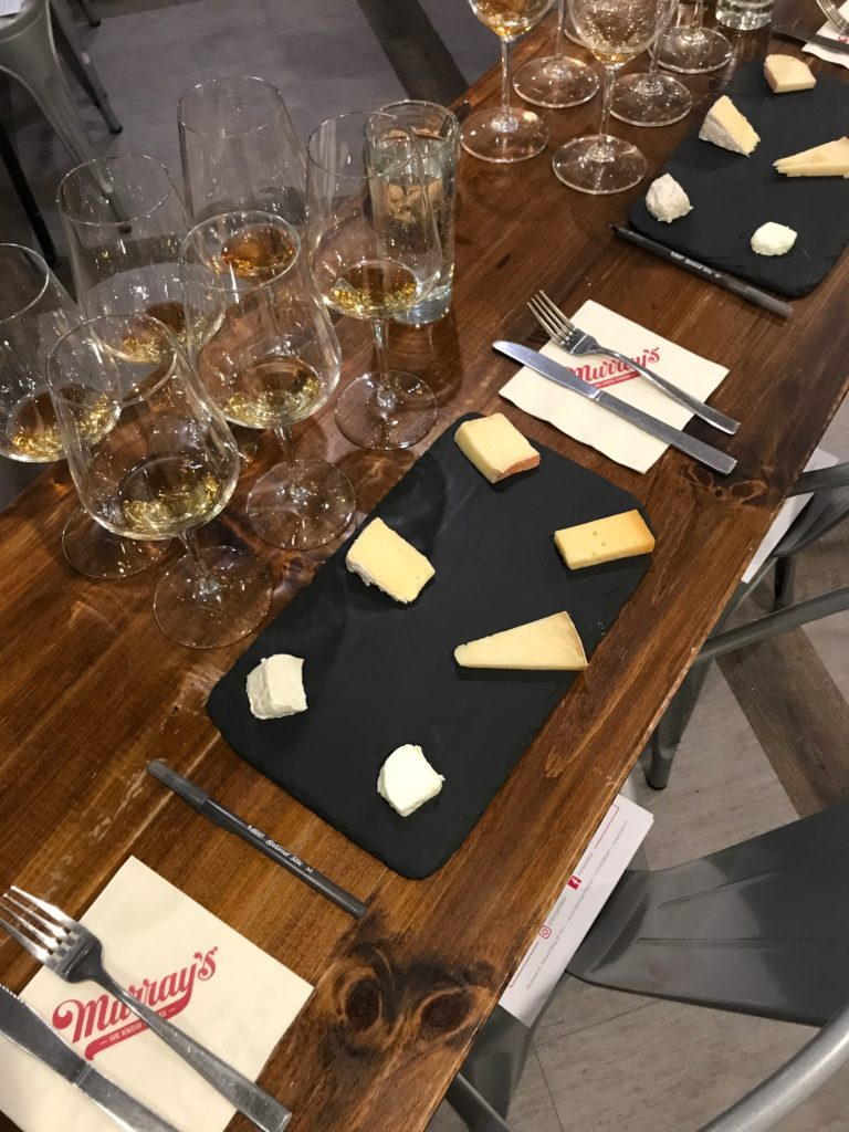 whiskey whisky scotch cheese class classes education murray's bruichladdich islay
