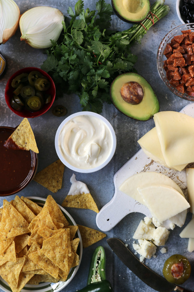 murray's best cheese chorizo nachos recipe super bowl party football mexican food